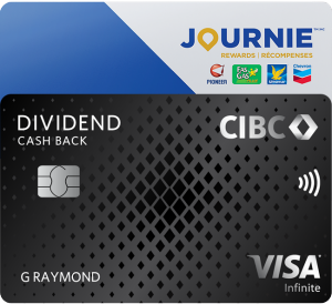 CIBC Dividend Infinite Visa Card and CIBC Dividend Platinum Visa Card.