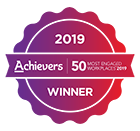 Achievers 50 Most Engaged Workplaces 2019