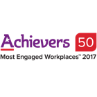 Achievers 50 Most Engaged Workplaces 2017.