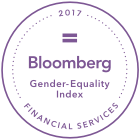 2017 Bloomberg Financial Services Gender Equality Index.