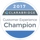 2017 Diamond Award for Client Experience.
