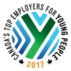 Canada's Top Employers for Young People 2017.