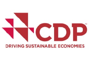 CDP logo. Driving Sustainable Economies
