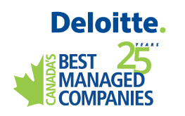 Canada's Best Managed Companies 25 Years logo.