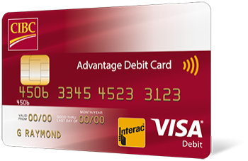 CIBC Advantage Debit Card