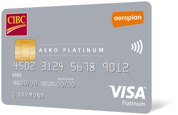 CIBC Aero Platinum Visa Card for Students