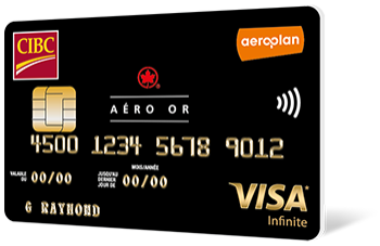 Carte Aéro Or CIBC Visa Infinite