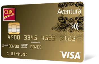 Carte Aventura Or CIBC Visa*