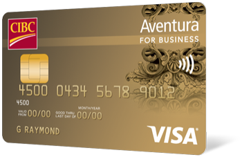 Aventura Visa Card For Business Cibc