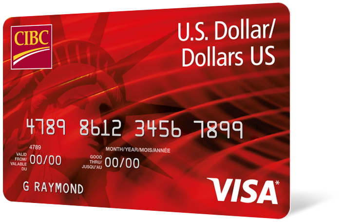 CIBC US Dollar Aventura Gold Visa card
