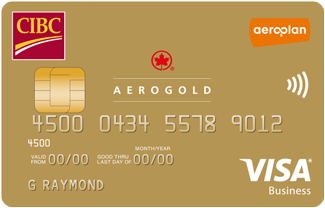 CIBC Aerogold Visa Card for Business