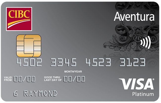 The CIBC Aventura Visa Card.