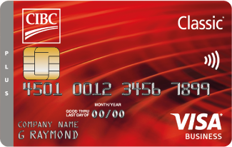 CIBC Corporate Classic Plus Visa Card