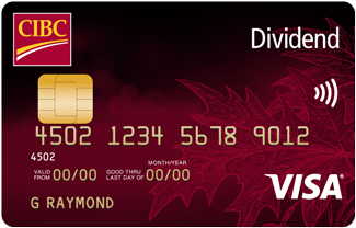 The CIBC Dividend Visa Card