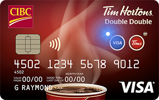 CIBC Tim Hortons Double Double Visa Card for Students.