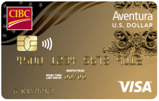 U.S. Dollar Aventura Gold Visa Credit Card