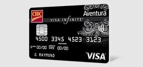 Carte Aventura CIBC Visa Infinite