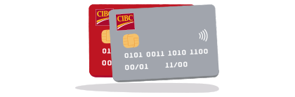 Two CIBC credit cards