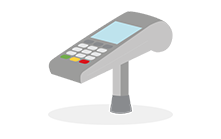 Point of sale terminal.