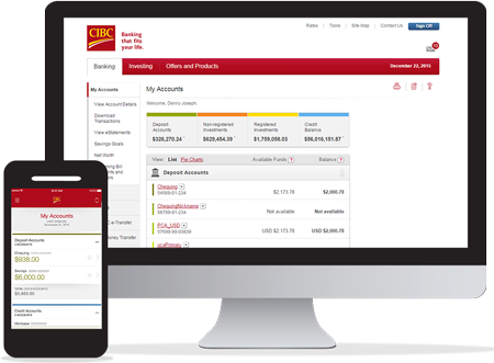 cibc credit card login