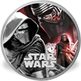 Kylo Ren–Star Wars: The Force Awakens coin