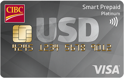 CIBC Smart Prepaid Travel Visa Card