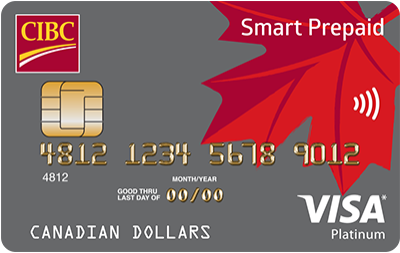 cibc smart prepaid visa card - Prepaid Visa Cards Near Me